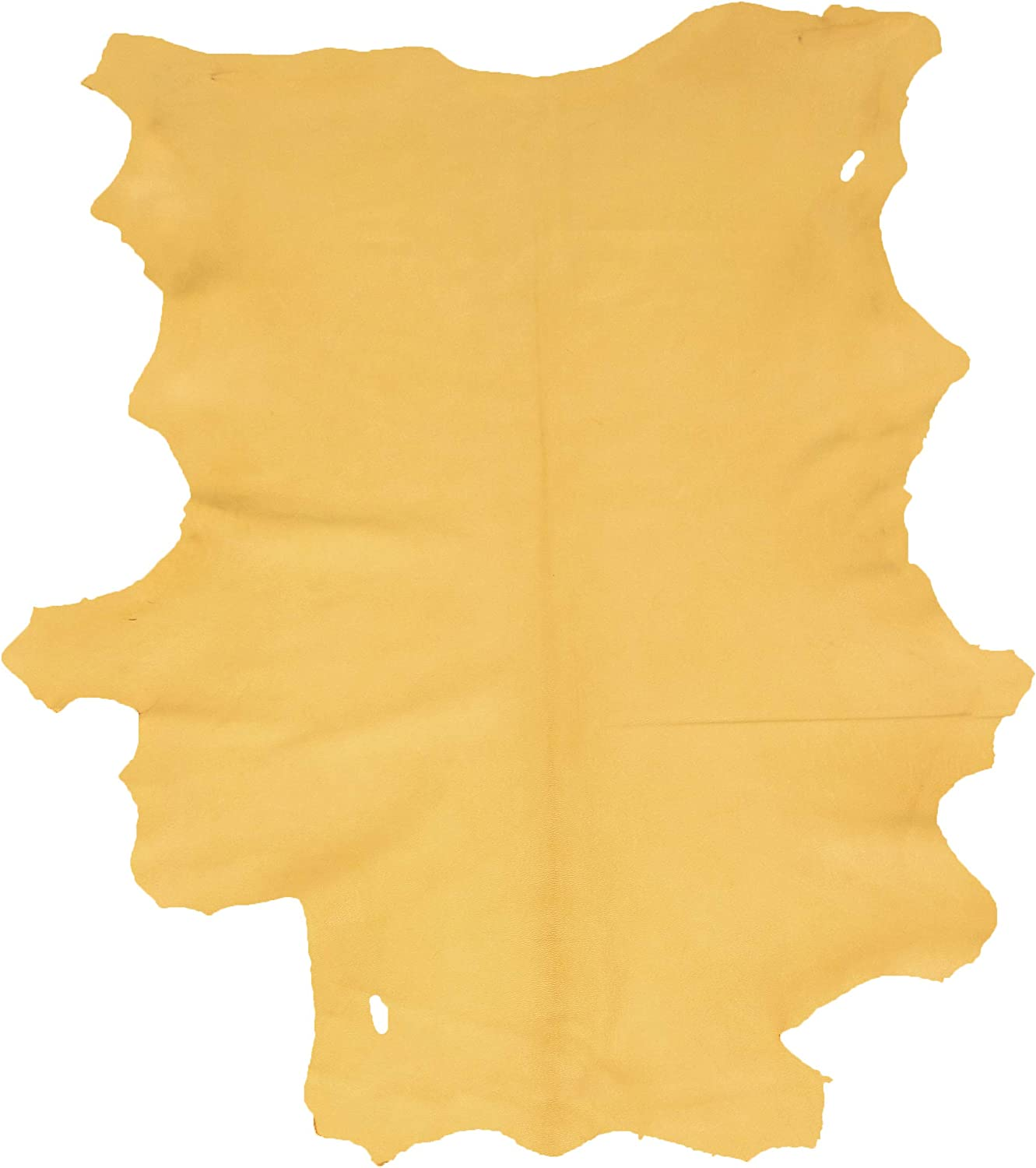 6.00 to 6.75 sq ft Gold Glacier Wear First Quality Buckskin Leather