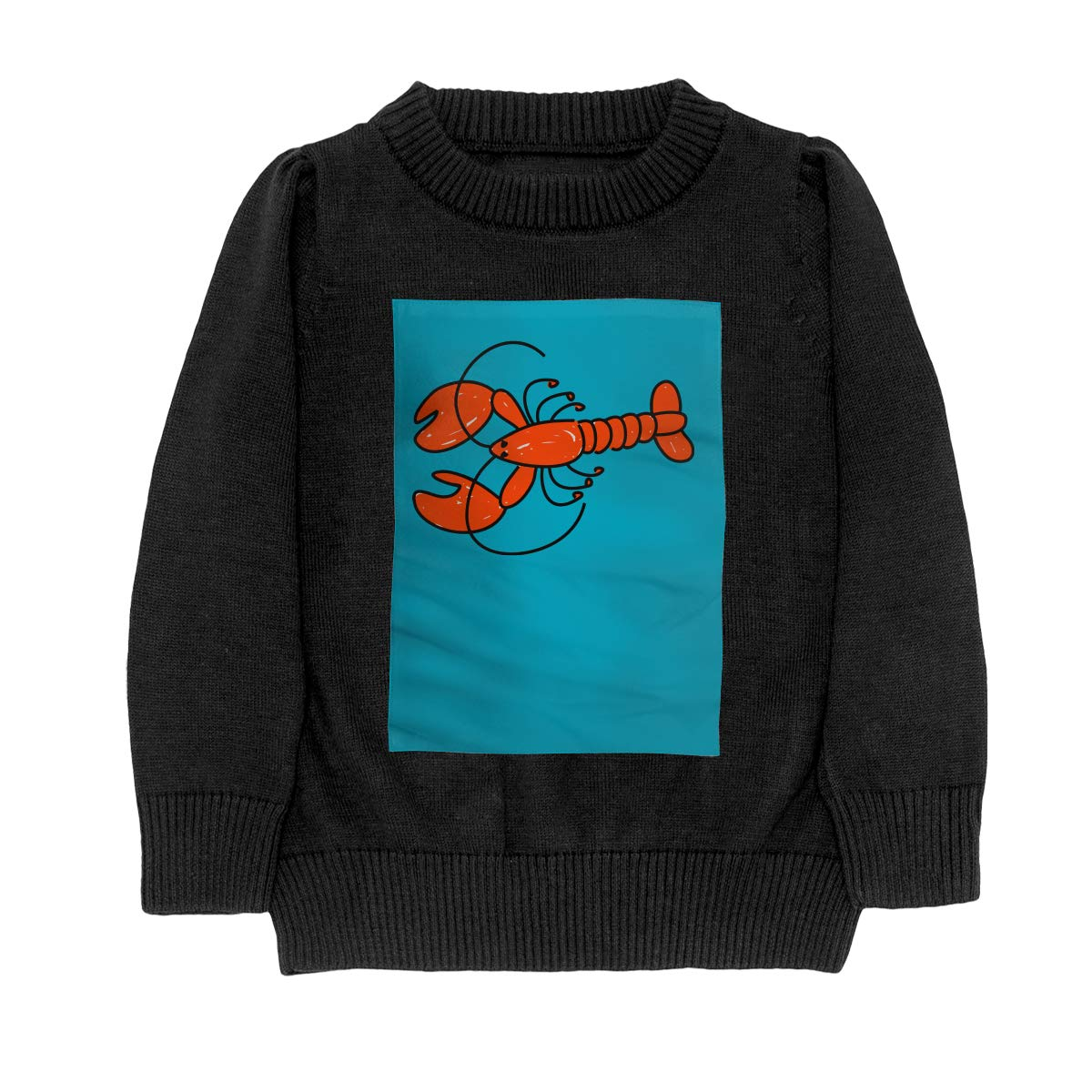 WWTBBJ-B A Lobster Style Teenager Boys Girls Unisex Sweater Keep Warm
