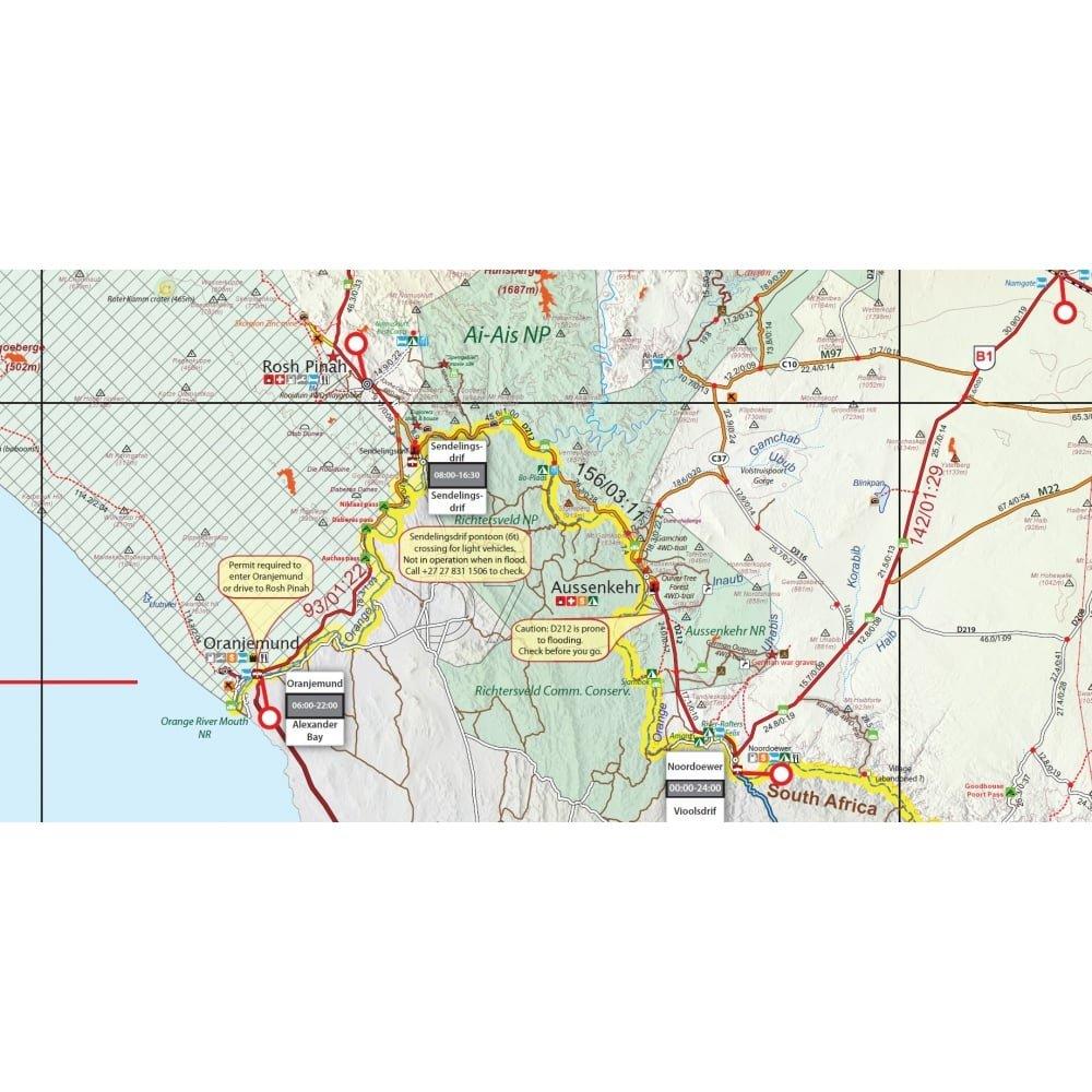 Karte Namibia Download.Namibia Amazon Co Uk Tracks4africa 9780992183028 Books