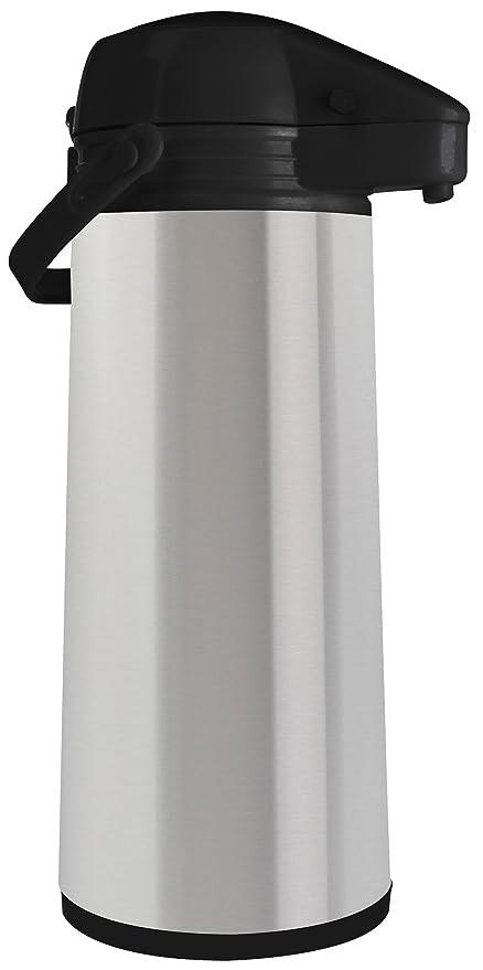 Carrefour 3609231894746 1.9L Negro, Acero Inoxidable - Termo (1,9 L,