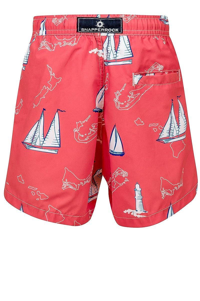 B90033P Snapper Rock Boys Gecko Pool Boardie Swimsuit With UV50+