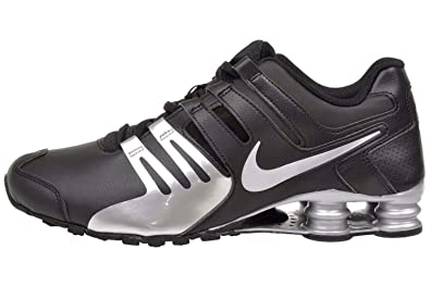 competitive price 58281 46314 Nike Shox Current Running Shoes athletic sneakers 11.5,Black Black Metallic  Silver