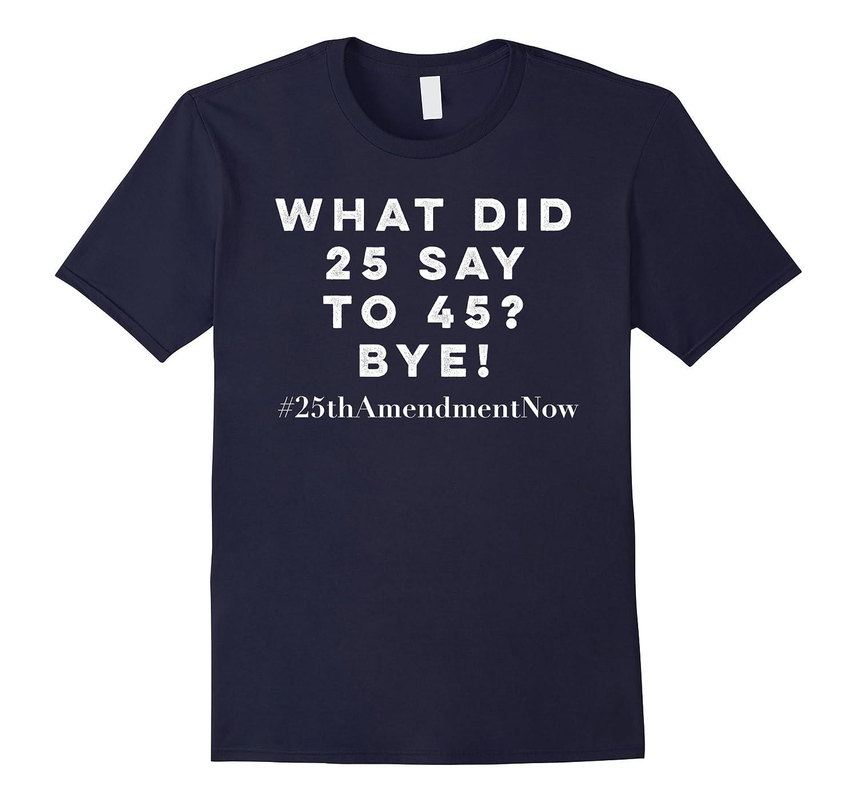 25th Amendment Impeachment Resist Political T-shirts-PL