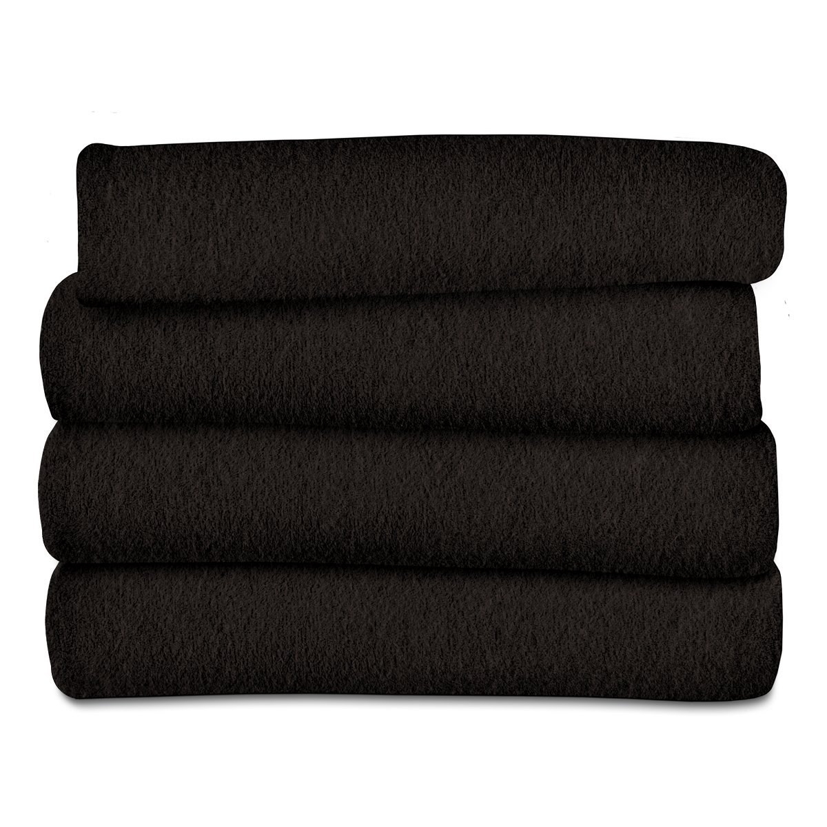 Sunbeam Heated Throw Blanket   Fleece, 3 Heat Settings, Walnut