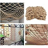 Wwwang Hennep touw netto Bar Decor en accessoires for Party/binnen, gevuld dier Nets for Kids Rooms/slaapkamer…