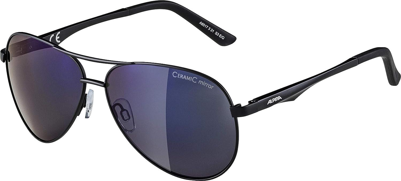 Alpina deporte gafas ciclismo pheso ceramic mirror gris