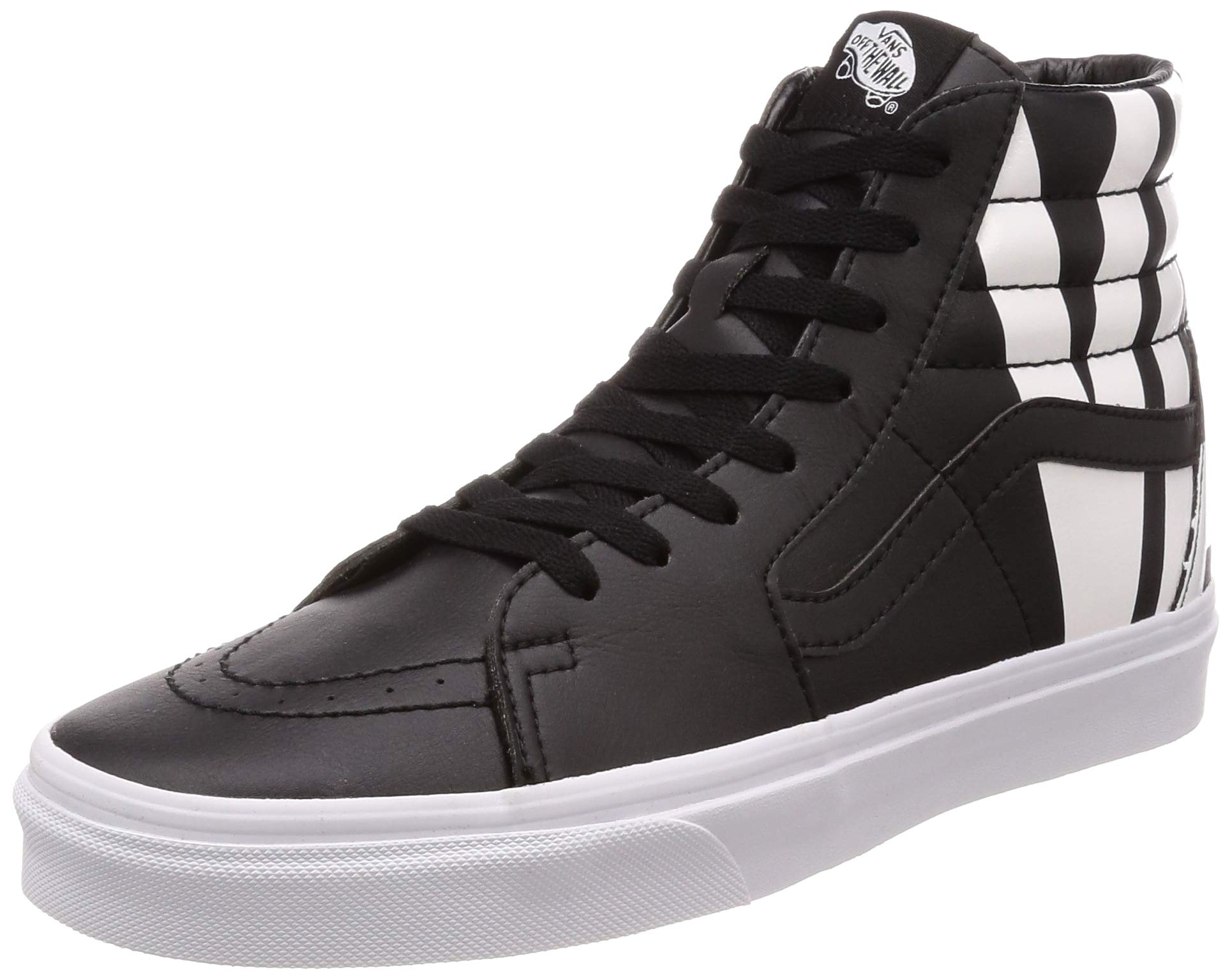 1a1a336e04 Galleon - Vans Sk8-Hi Black White (6.5 Women   5 Men M US)