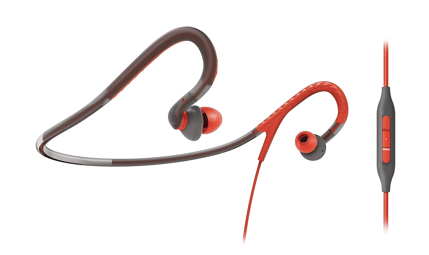 Philips SHQ4217 - Auriculares deportivos (in-ear, control remoto ...