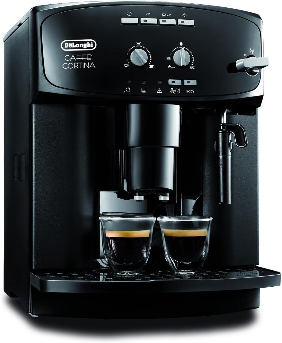 DeLonghi ESAM 2900 - Cafetera automática, 1.8 l, color negro: Amazon.es: Hogar