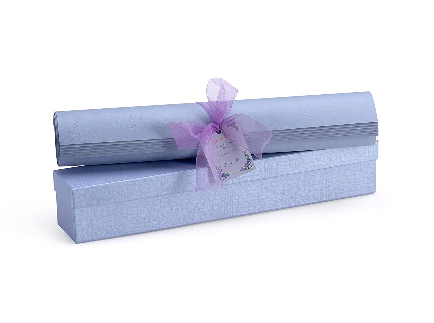 Lavendar Embossed Scented Drawer Liners Scentennials