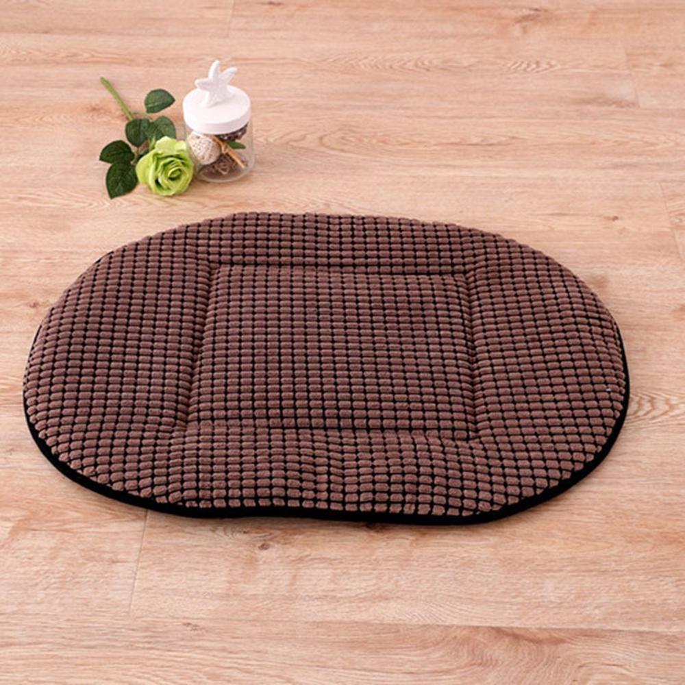 A YunYilian Pet Bolster Dog Bed Comfort Dog mat (color   A)