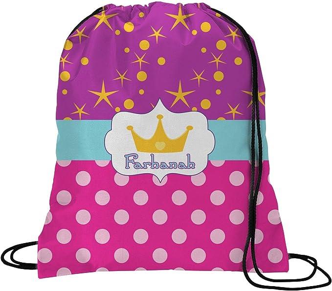 Personalized YouCustomizeIt Sparkle /& Dots Duffel Bag