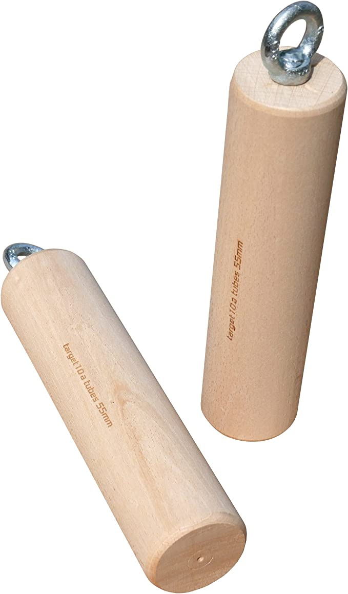 target10a Wood Tubes 55 mm - Cilindro de madera para escalada ...