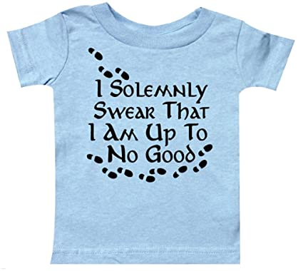 fe9842d69c824f Amazon.com: Harry Potter, Up to no good Baby Infant Clothes: Clothing