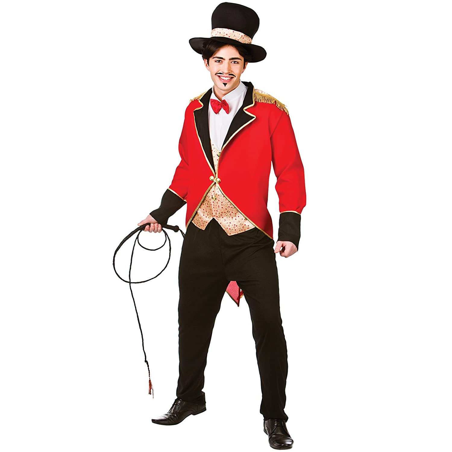 Mens Male Strong Man Circus Adult Fancy Dress Costume Outfit M//L