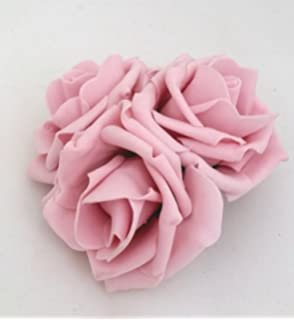 Large Royal Blue Roses Cluster Artificial Hair Flowers Fasciator Clip Hand Made in Uk sxkOGP0