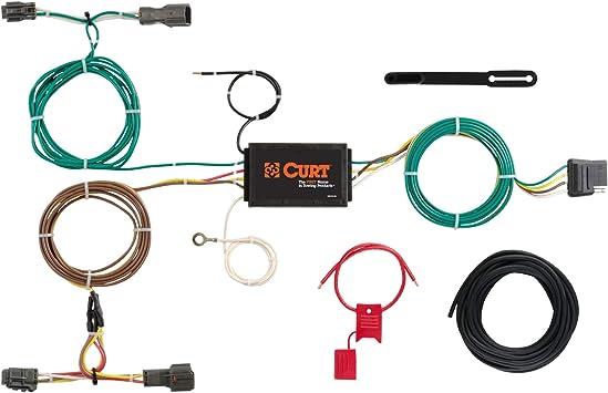 Amazon.com: CURT 56256 Vehicle-Side Custom 4-Pin Trailer Wiring Harness for  Select Kia Sorento: AutomotiveAmazon.com