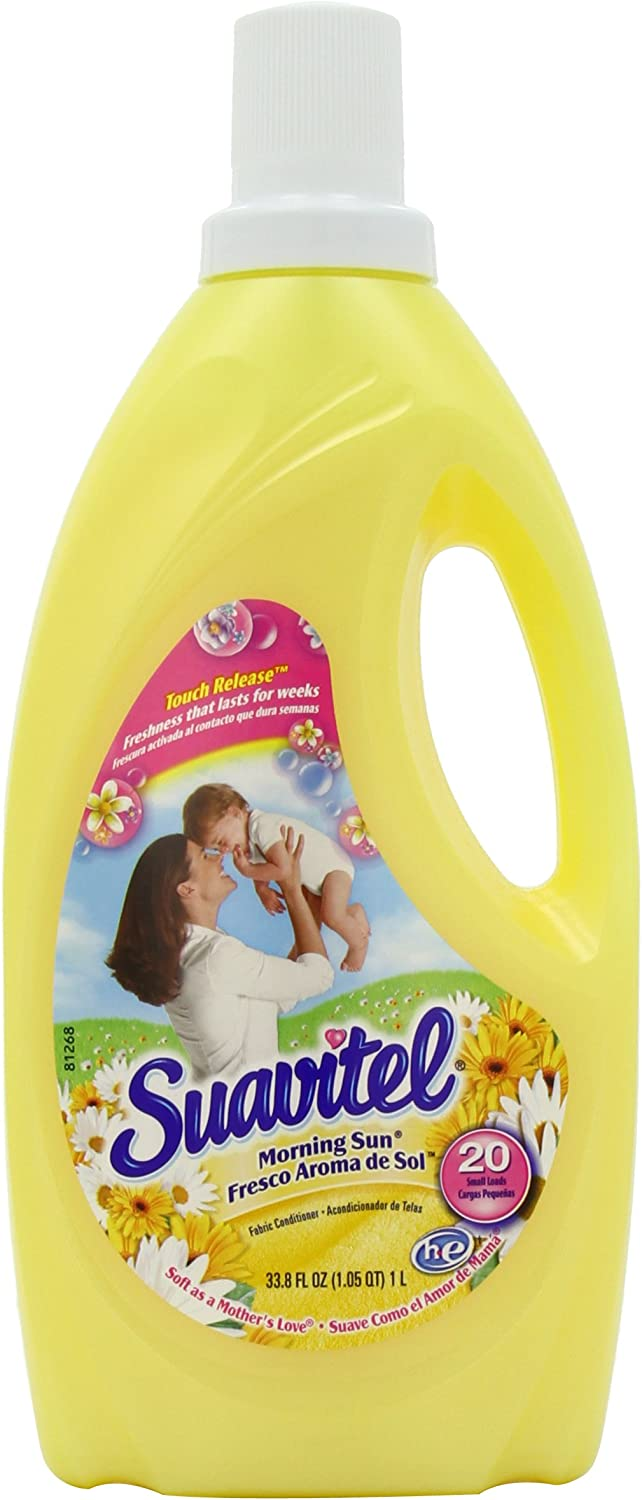 Suavitel Fabric Softener, Morning Sun, 33.8 Ounce
