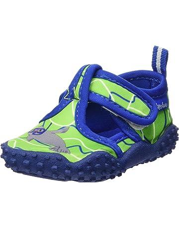 33dbeffa Playshoes Badeschuhe Mit UV-Schutz Robbe, Zapatillas Impermeables Unisex  Niños