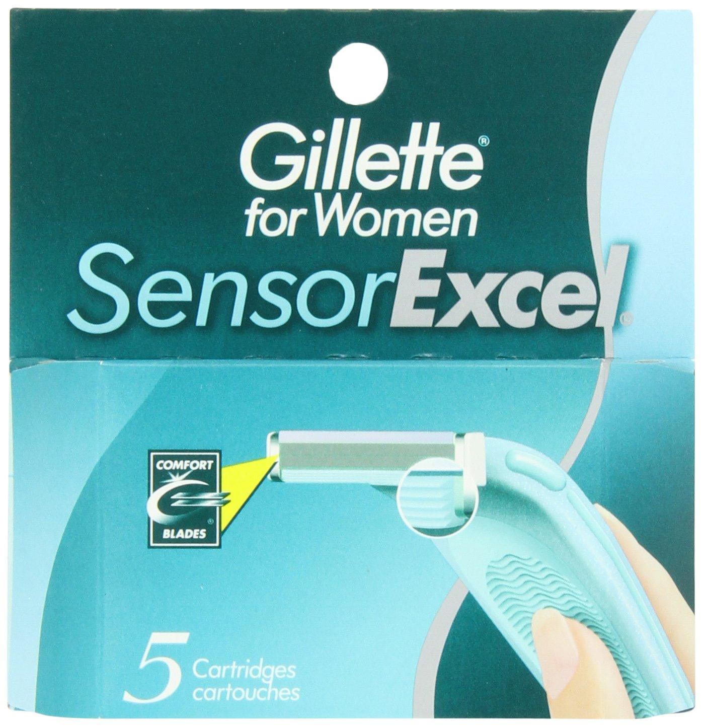 Gillette for Women SensorExcel Cartridges 5 ea P&G NA