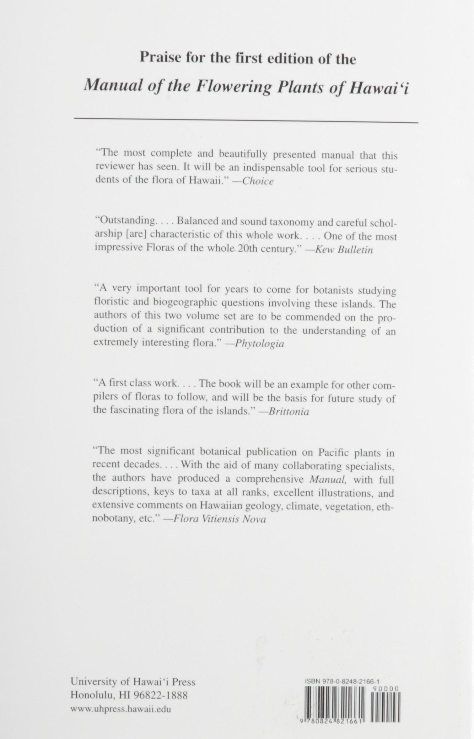 Manual of the Flowering Plants of Hawai\'i (Bernice Pauahi Bishop ...