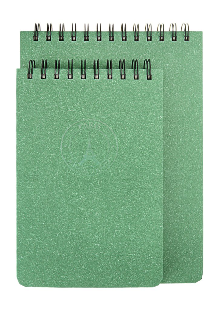 Top Spiral Personal Planner Organizer B5 Mini Memo Notepads Agenda Notebook Blank Sketchbook 130 Sheet by Bao Core (Image #6)