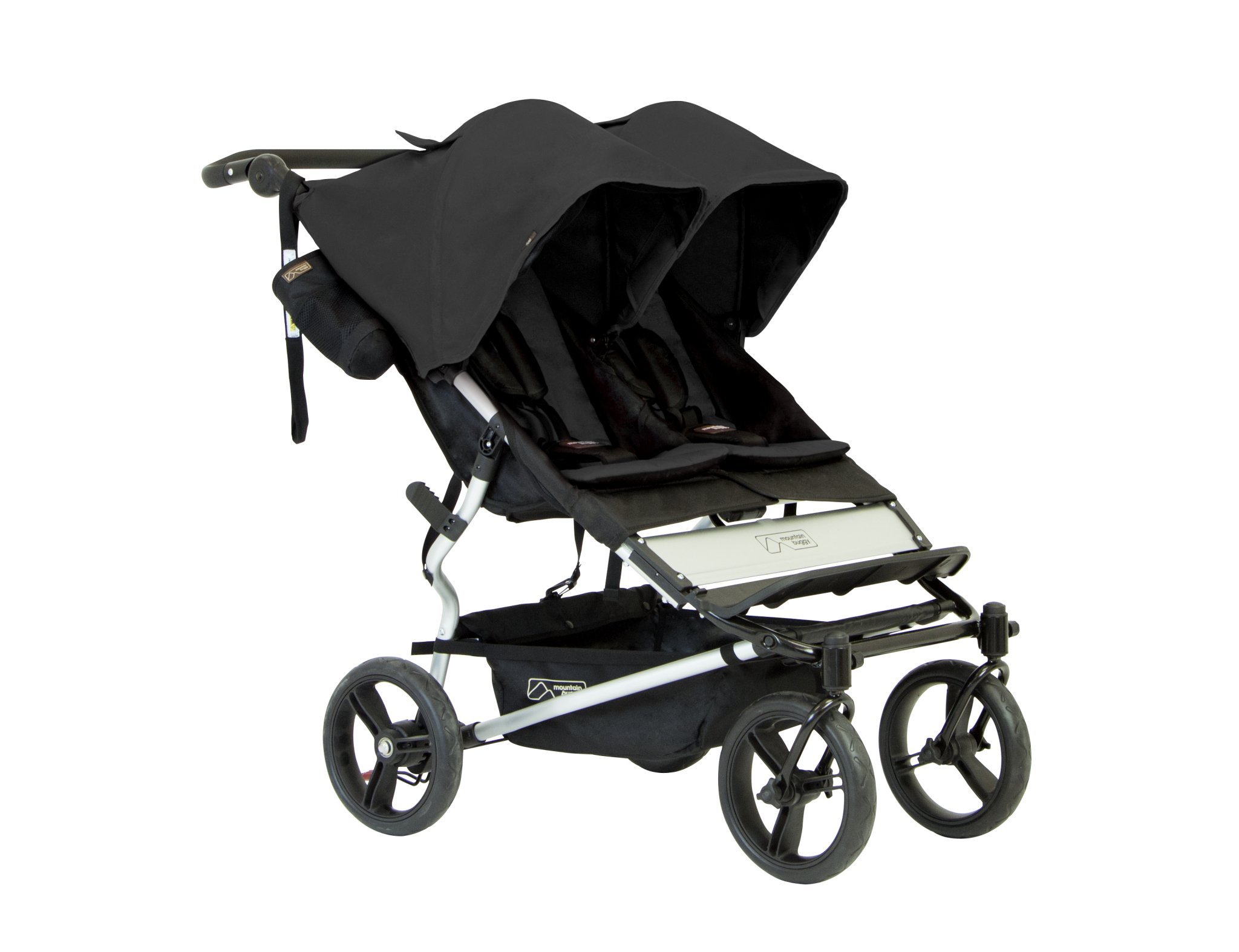 Mountain Buggy Duet 2016 Double Stroller, Black by Mountain Buggy (Image #1)