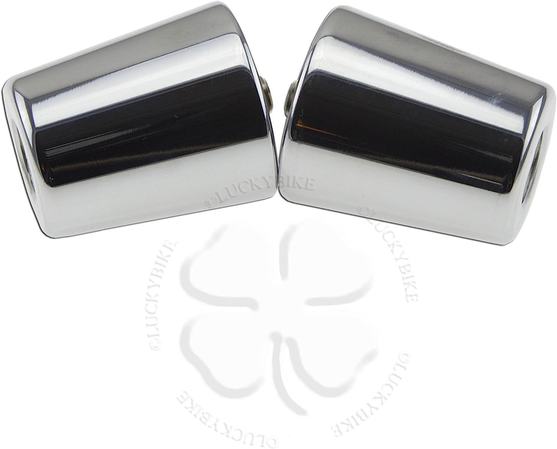 Anti Vibration Handle Bar End Black For Kawasaki Ninja Slug Weight Reducing