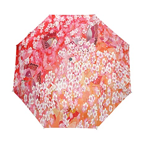 88b7447b587f Amazon.com: OuLian Umbrella Japan Style Pattern and Color Golf ...
