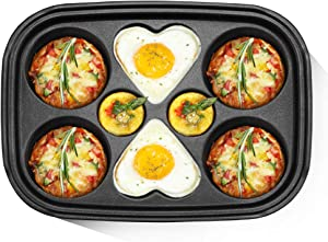 BSTY Couples Pan for All-in-One Campact Multifunction Cooker | Electric Pan | Electric Griddle