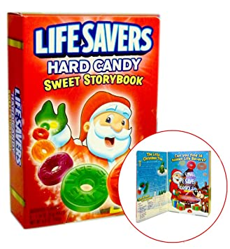 lifesavers hard candy christmas sweet storybook - Candy Christmas