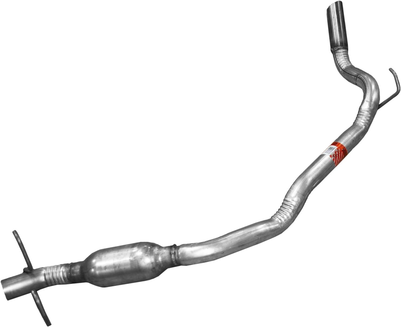 Exhaust Resonator Pipe-Resonator Assembly Walker 55584