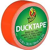 """ShurTech Mini Duck Tape, 0.75"""" by 15', Orange"""