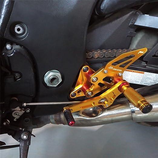 FOR Suzuki GSX1300R Hayabusa 2008-2015 Multi Step Adjustable Front Foot Pegs