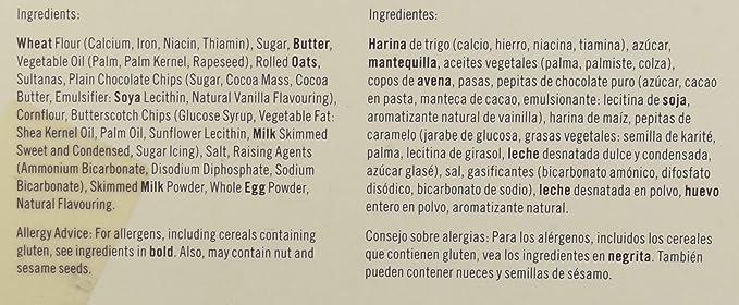 Border Biscuits Hexagonal Classic Recipe Selection, Surtido de galleta fresca - 500 gr.