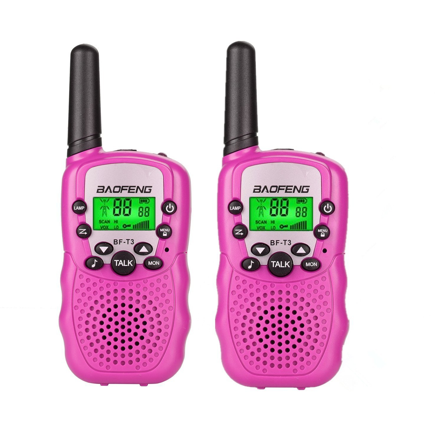 Toys for 3-12 Year Old Girls, Kids Walkie Talkies for Kids Toys for 3-12 Year Old Girls Gift for Age 3-12 Girls Pink