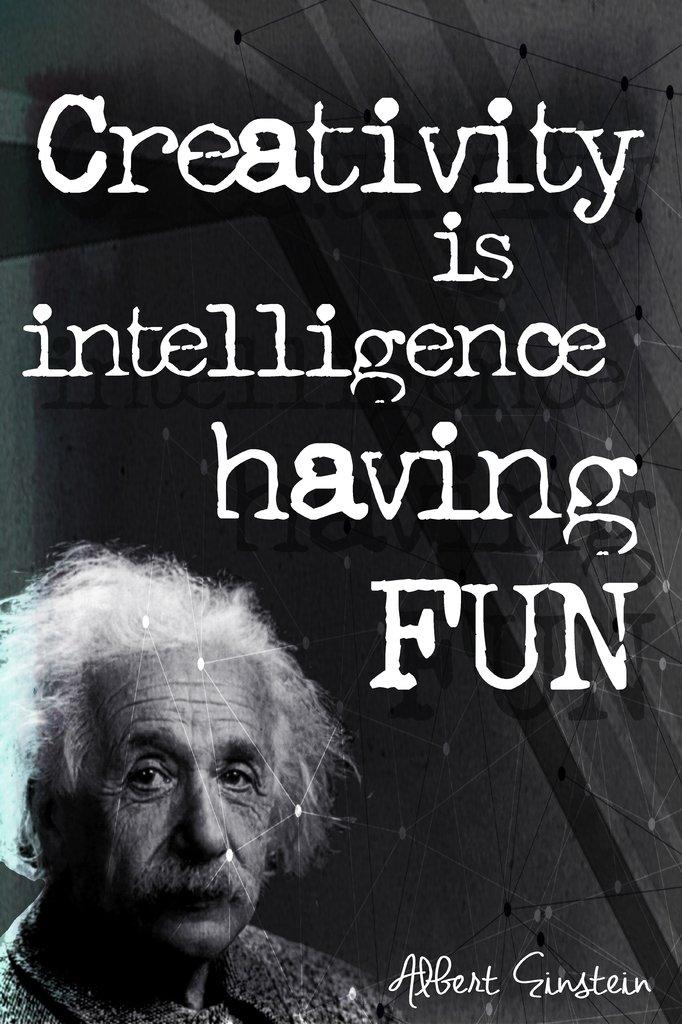 Amazon Keen Creativity Is Intelligence Having Fun Albert