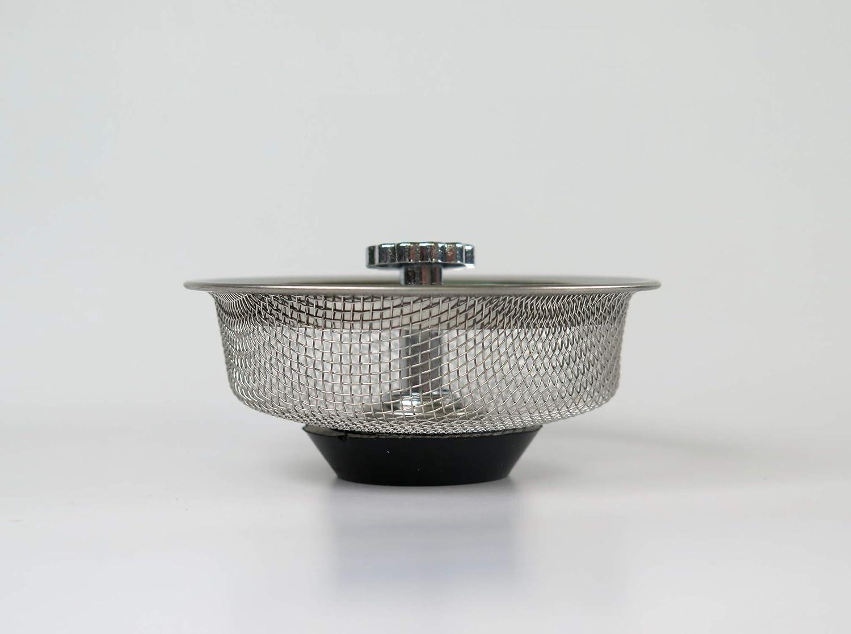 filtre de /évier//douche//baignoire pour tamis pour ouvertures de drainage de ~ 7,5 cm 8,3cm Bouchon de filtre de tamis en acier inoxydable