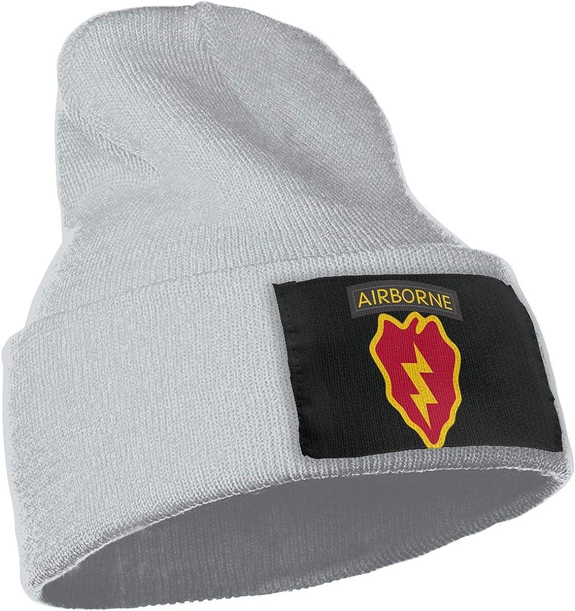 SLADDD1 4th Airborne Brigade Combat Team Warm Winter Hat Knit Beanie Skull Cap Cuff Beanie Hat Winter Hats for Men /& Women