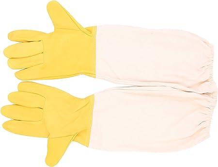 Goatskin Bee Keeping Beekeeper Protective Long Sleeves Beekeeping Gloves
