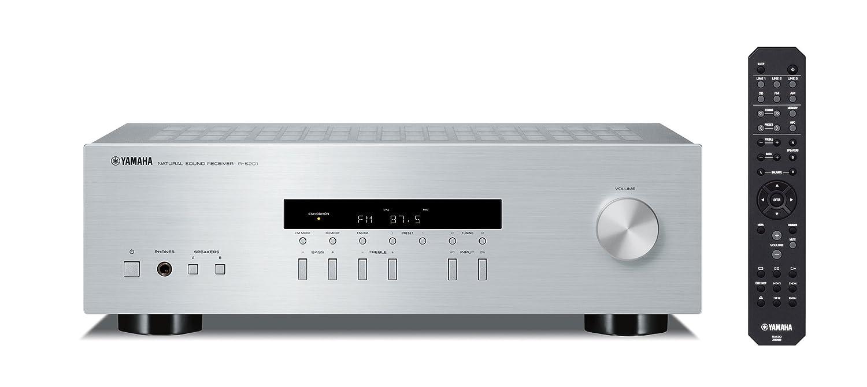 Yamaha R-S201 - Sintonizador para equipo de audio (2 x 100 W, AM, FM, HI-Fi, 100 dB), plateado: Amazon.es: Electrónica