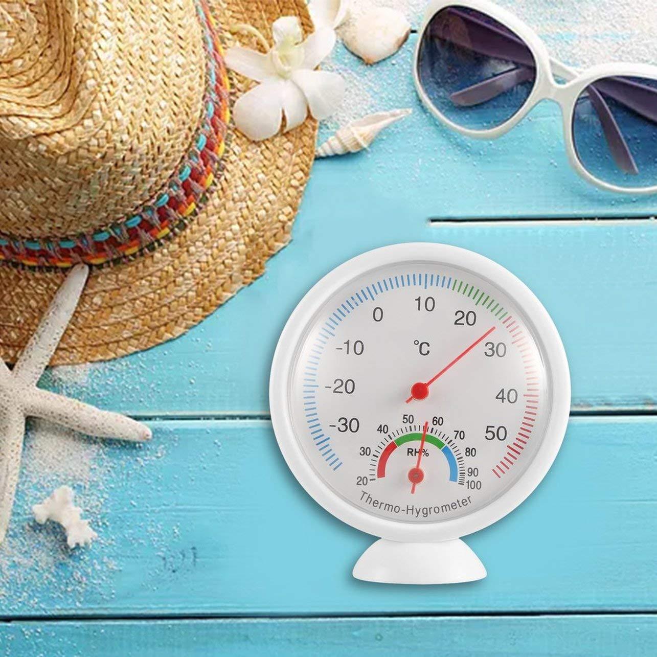 WOSOSYEYO WS-A1 Indoor Outdoor Thermometer Hygrometer Tragbare Temperaturmesser Kunststoff Thermohygrometer Haushalt K/üchenger/äte