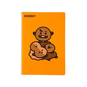 BT21 shooky Nota A5: Amazon.es: Oficina y papelería