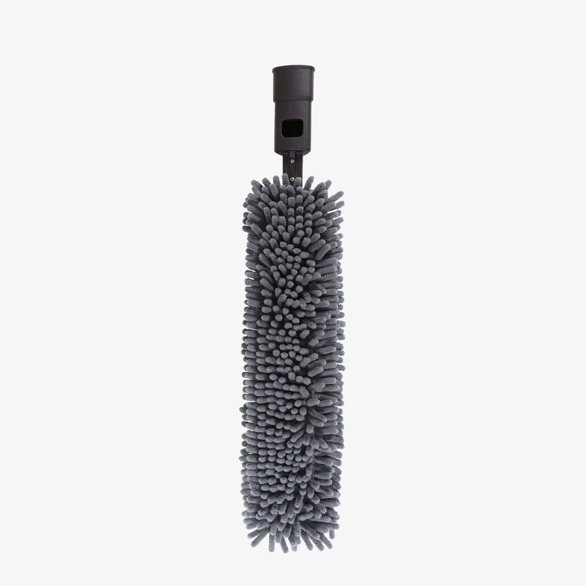 SWOPT Microfiber Flexible Duster Head – Washable Cleaning Pad for Hard to Reach or Tall Areas – Interchangeable with Other SWOPT Products for More Efficient Cleaning and Storage, Head Only, Handle Sold Separately, Refill Included, 5400C6