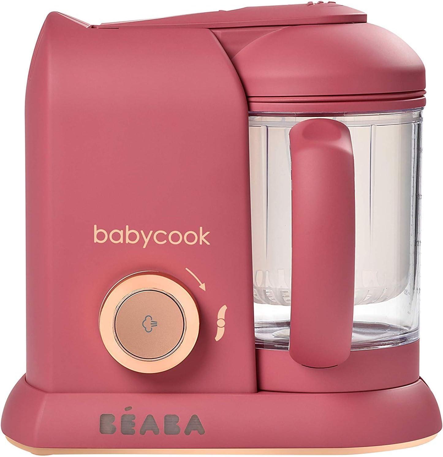 B/ÉABA Babycook Solo Noir Robot B/éb/é 4 en 1 Mixeur-cuiseur
