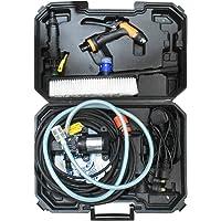 Car Washer Pressure Pump, Portable Intelligent Electric Washer Pump, 120W 160 PSI 12V High Pressure Powerful Washing Kit…