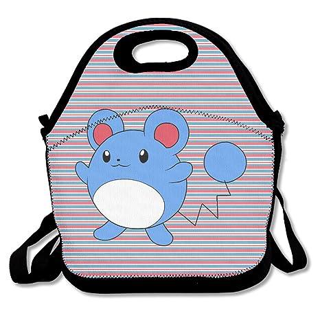 nnhaha Pokemon Go Maril bolsa para el almuerzo Tote bolso almuerzo cajas