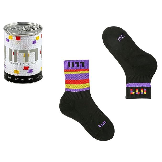 1177 Calcetines de deporte cortos para hombres Active in Dryarn, calcetines hombres efecto de esponja