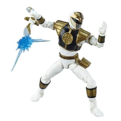 Power Rangers Lightning Collection 6-Inch Mighty Morphin White Ranger Collectible Action Figure: Toys & Games