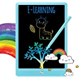 TEKFUN LCD Writing Tablet Doodle Board, 10inch Colorful Drawing Tablet Writing Pad, Girls Gifts Toys for 3 4 5 6 7 Year Old G